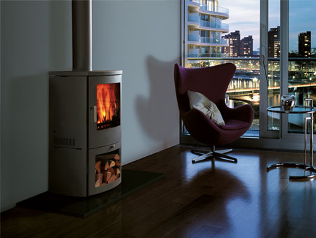 Chesneys Milan 6kW multi fuel stove