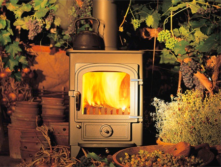 Clearview Pioneer 400 multi fuel / wood burning stove