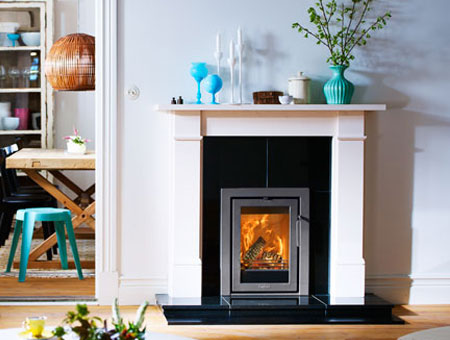 Contura I4 Modern 3 Insert Wood Burning Stove Contura Stoves Uk