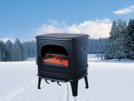 DRU 64 MF Multi Fuel stove