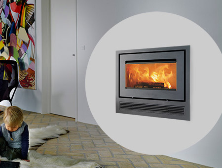 Lotus H470 Air Insert wood burning stove
