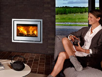 Lotus H470 R Insert Wood Burning Stove