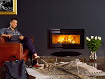 Lotus H470 W Magic Insert Wood Burning Stove