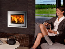 Lotus H570 R Insert Wood Burning Stove