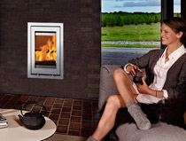 Lotus H700 R Insert Wood Burning Stove