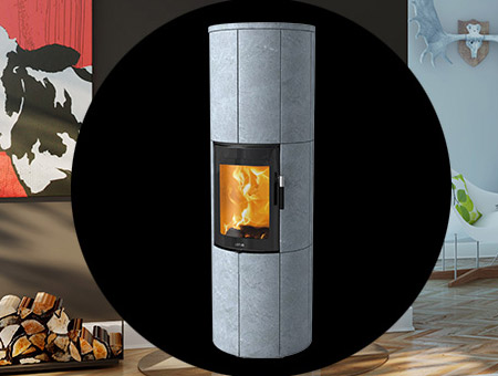 Lotus Maestro Magic Door wood burning stove