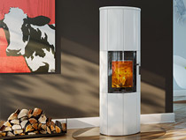 Lotus Maestro White Magic Door Stove