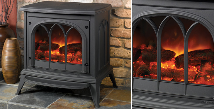 Electric Wood Burning Stove WB Designs - Electric Wood Burning Stove WB Designs