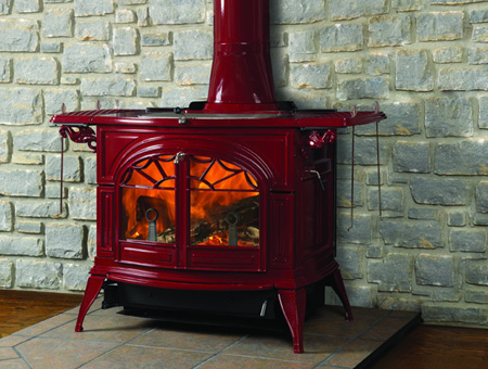 Castings Defiant FlexBurn wood burning stove | Vermont Castings stoves