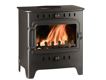 Villager C Flat Wood Solo stove