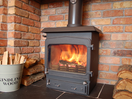 Woodwarm Fireview 4.5kw multifuel stove