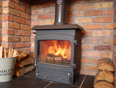 Woodwarm Fireview 6kw multifuel stove
