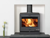 Yeoman CL8 multi fuel wood burning stove
