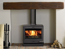 Yeoman CL8HB multi fuel boiler stove