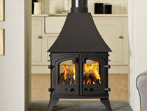 Yeoman Devon double sided- Gas stove